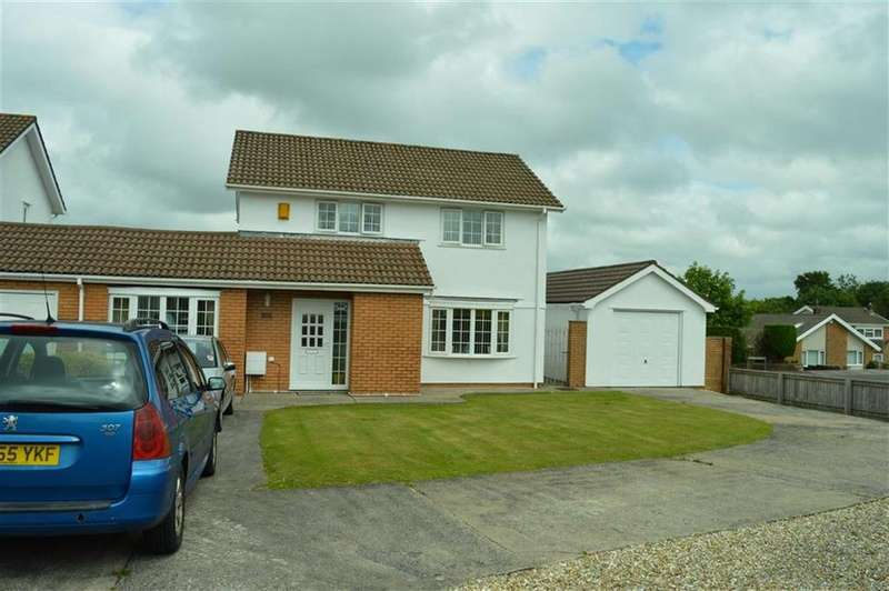 3 Bedrooms Link Detached House for sale in Plas Cadwgan, Swansea, SA4