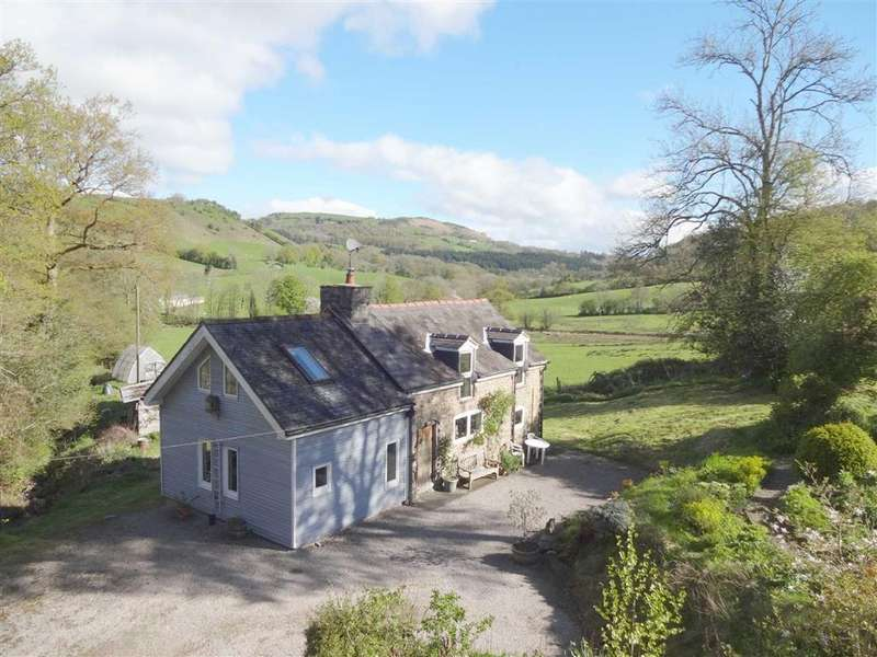 3 Bedrooms Detached House for sale in The Glyn, Cwm Nant Y Meichiaid, Llanfyllin, Powys, SY22