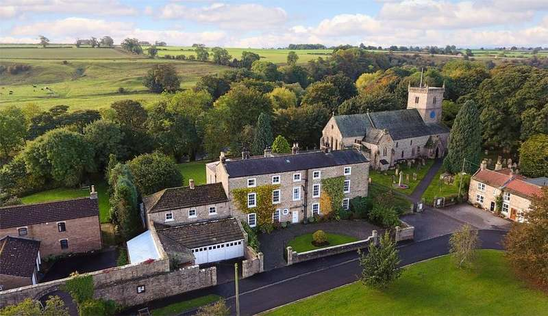7 Bedrooms Country House Character Property for sale in The Old Vicarage, Low Green, Gainford, Darlington, County Durham