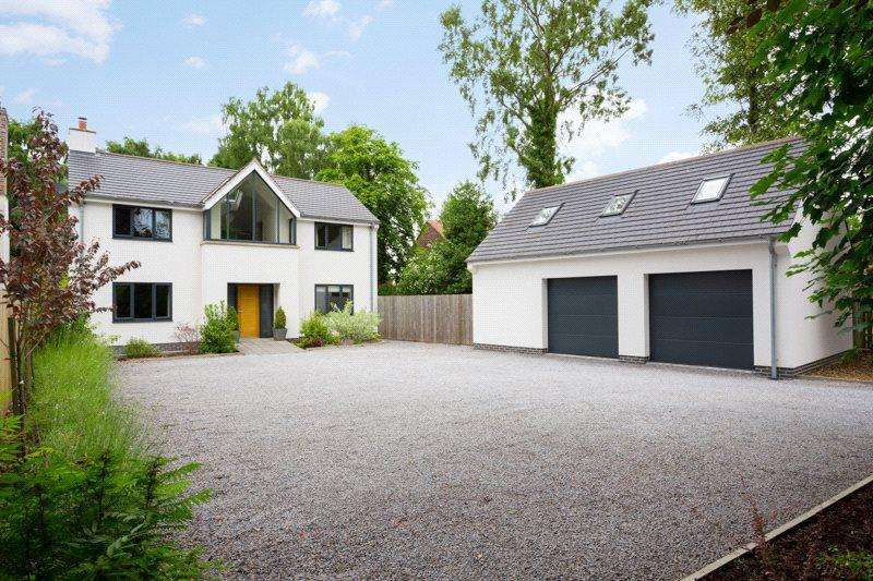 4 Bedrooms Detached House for sale in Ox Carr Lane, Strensall, York, YO32
