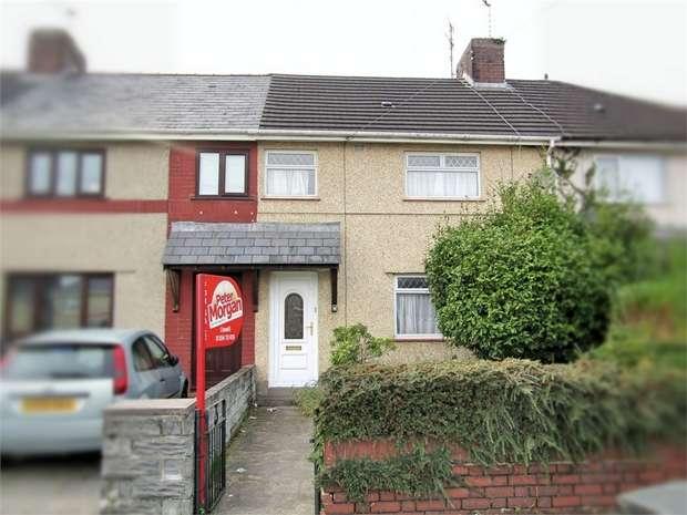 3 Bedrooms Terraced House for sale in Cae Glas, Felinfoel, Llanelli, Carmarthenshire