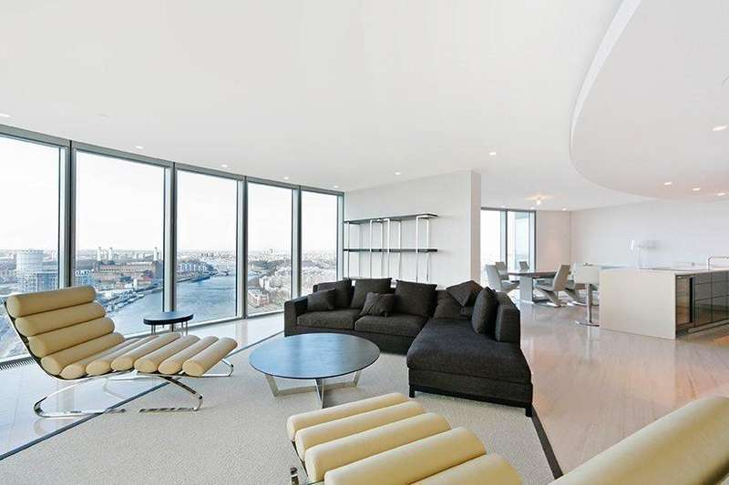 3 Bedrooms Flat for sale in The Tower, St George Wharf, Vauxhall
