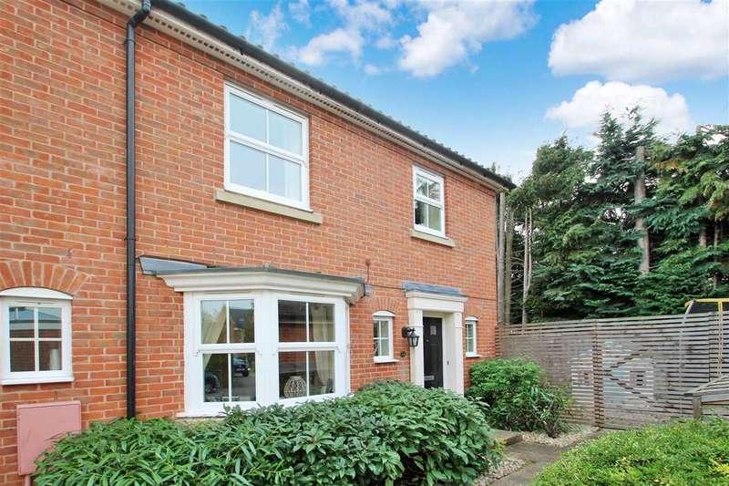 4 Bedrooms Semi Detached House for sale in Spalding Lane, Grange Farm, Kesgrave, Ipswich