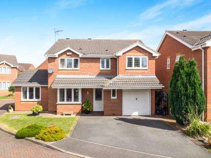4 Bedrooms Detached House for sale in Minton Close, Chilwell, Beeston, Nottingham