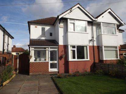 3 Bedrooms Semi Detached House for sale in Westdale Gardens, Manchester, Greater Manchester, Uk