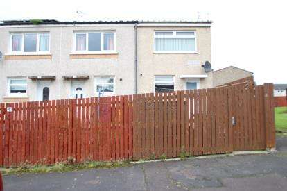 2 Bedrooms End Of Terrace House for sale in Cambus Place, Craigend