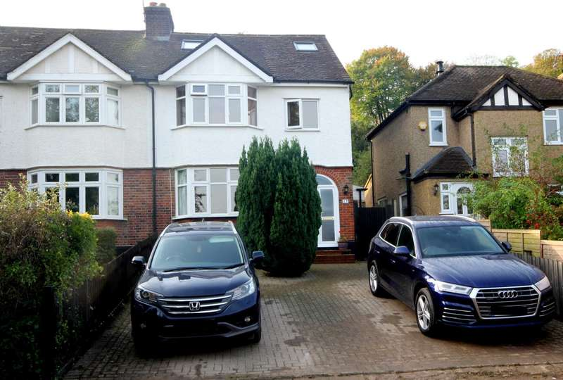4 Bedrooms Semi Detached House for sale in EXTENDED 4 BED CHARACTER SEMI, BOXMOOR, HP3