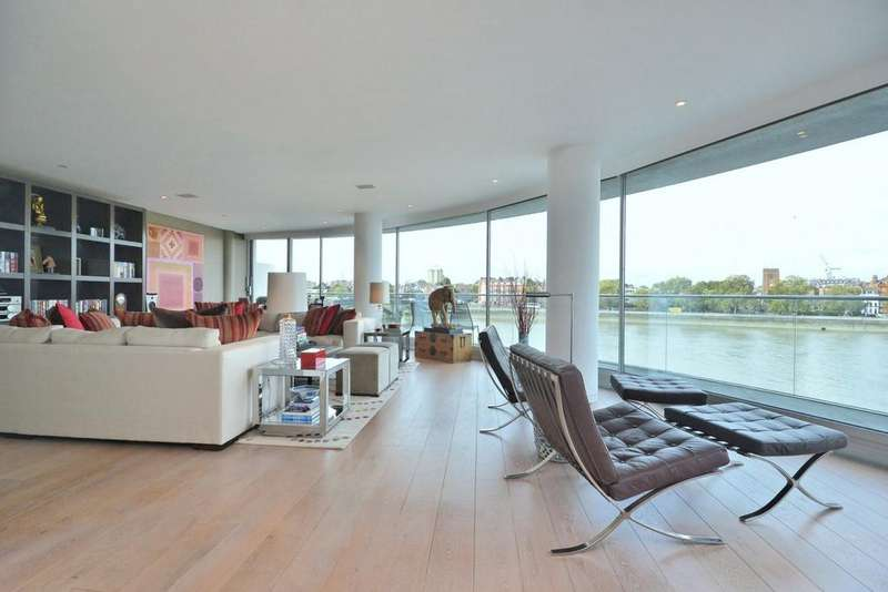 2 Bedrooms Flat for rent in Albion Riverside, Hester Road, Battersea, London, SW11