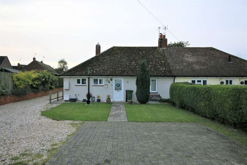 3 Bedrooms Semi Detached Bungalow for sale in Manor Road, Sherborne St John, Basingstoke, RG24