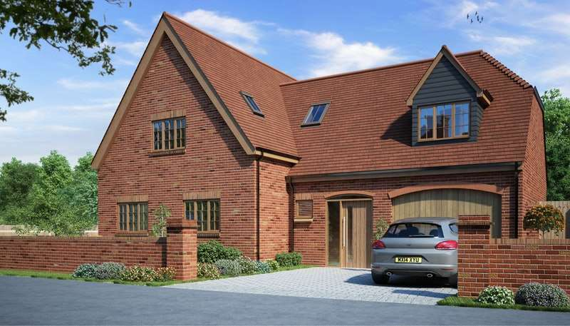 5 Bedrooms Detached House for sale in Plot 16, The Martlets, Hellingly, East Sussex, BN27