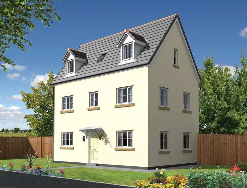 4 Bedrooms House for sale in Honeymead Meadow, Nadder Lane, South Molton, North Devon, EX36