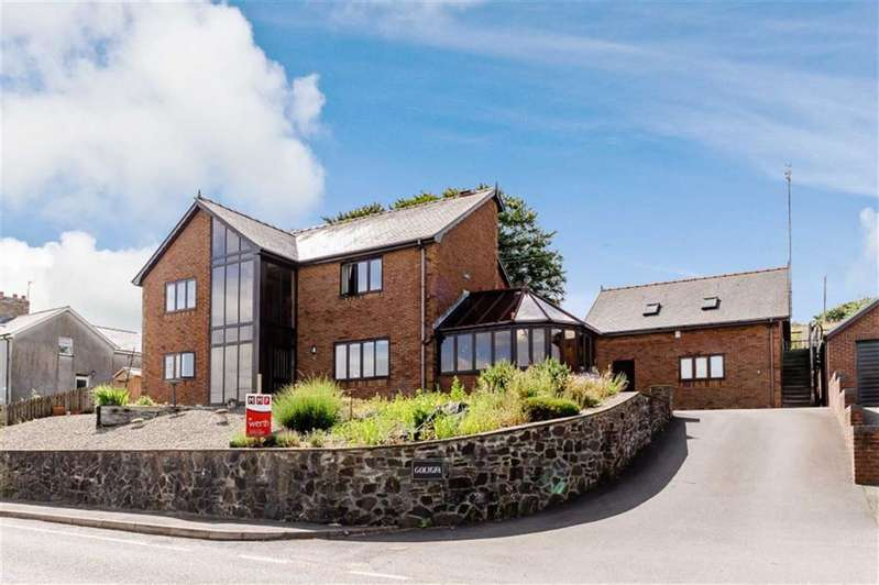 4 Bedrooms Detached House for sale in Pisgah, Aberystwyth