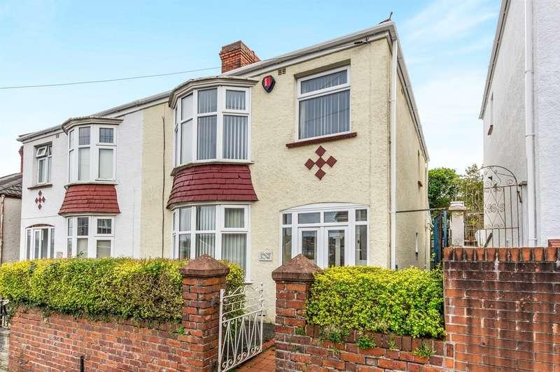 3 Bedrooms Semi Detached House for sale in Bohun Street, Manselton, Swansea