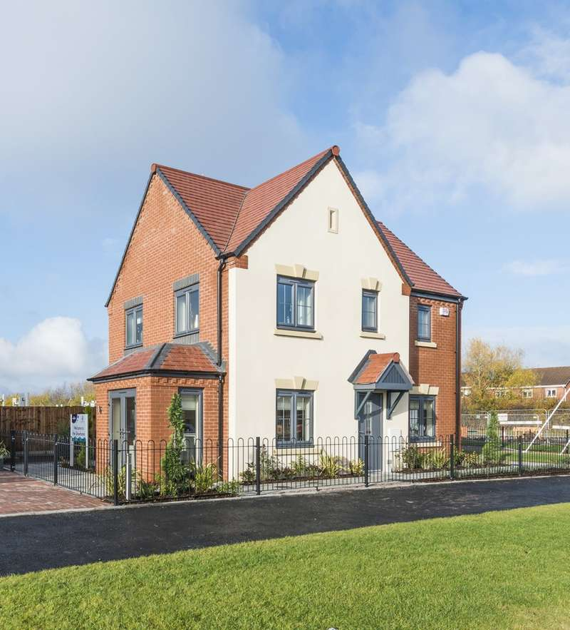3 Bedrooms Detached House for sale in Plot 38 Kingsley III Oakley Grove