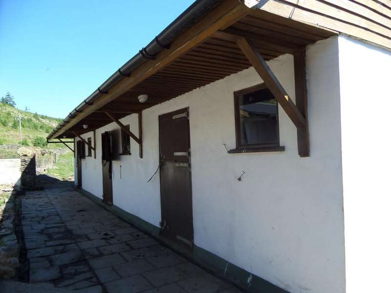 Land Commercial for sale in Land with Stables in Blaenllechau, Ferndale, CF43 4UF
