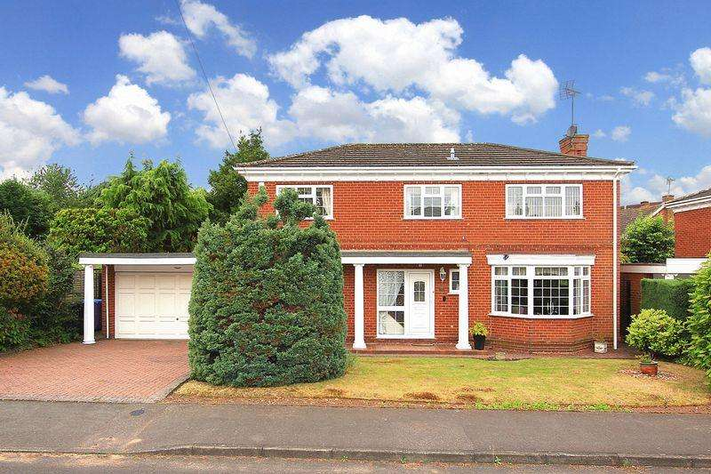 4 Bedrooms Detached House for sale in WOMBOURNE, Richmond Gardens