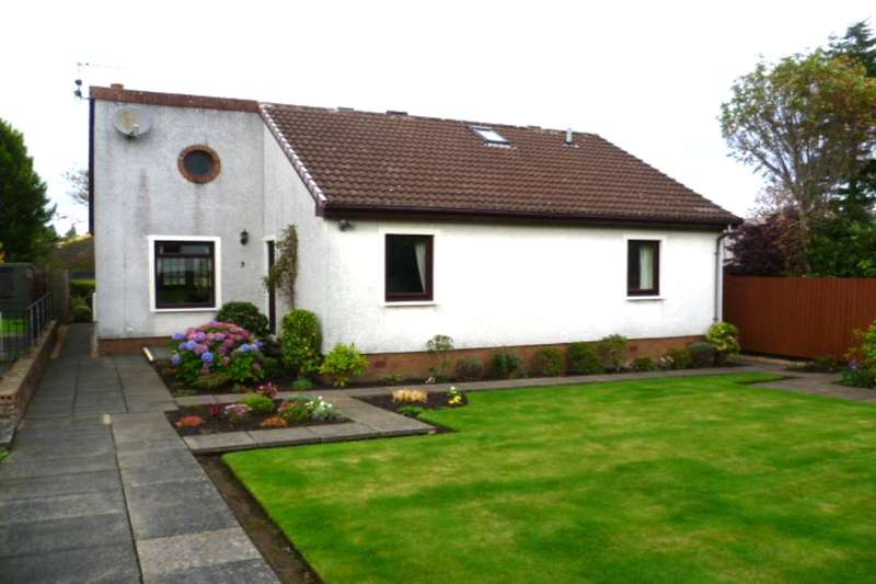 2 Bedrooms Detached Bungalow for sale in Strathearn Court, Auchterarder, PH3