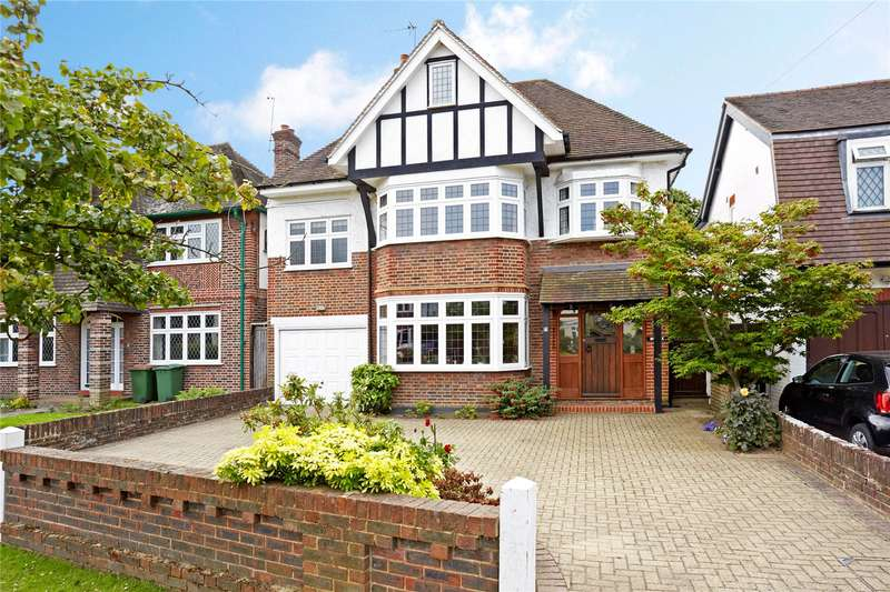 5 Bedrooms Detached House for sale in Grove Way, Esher, Surrey, KT10