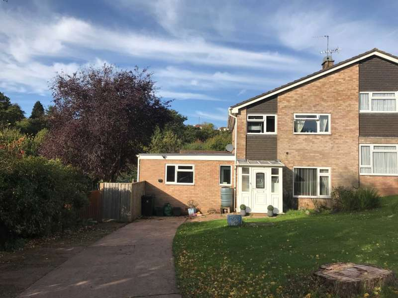 4 Bedrooms Semi Detached House for sale in Priddis Close, Exmouth
