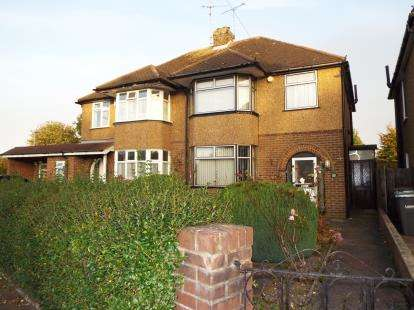 3 Bedrooms Semi Detached House for sale in Neville Road, Luton, Bedfordshire