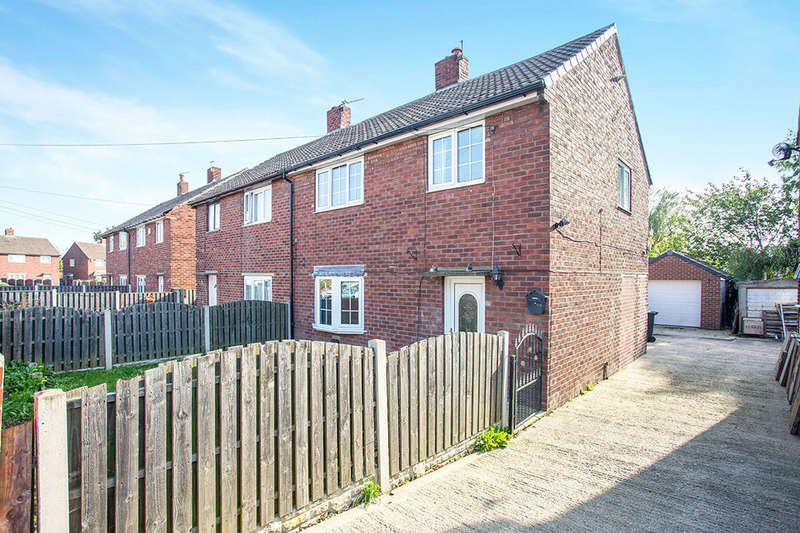 3 Bedrooms Semi Detached House for sale in The Green View, Shafton, Barnsley, S72