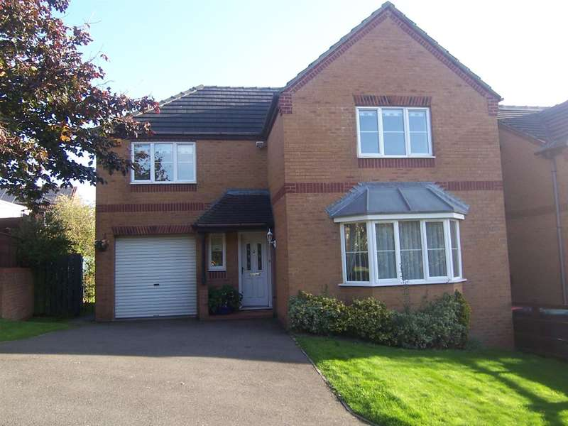 4 Bedrooms Detached House for sale in Wessex Drive, Giltbrook