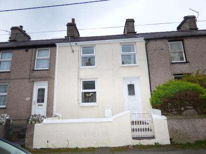 2 Bedrooms Terraced House for sale in Water Street, Llanllechid, Gwynedd, LL57