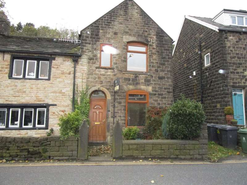 2 Bedrooms Semi Detached House for sale in Huddersfield Road, Diggle, Saddleworth.