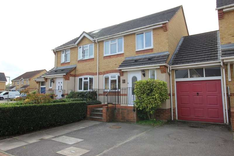 3 Bedrooms Semi Detached House for sale in Holbrook Meadow, Egham, TW20