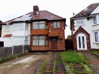 3 Bedrooms Semi Detached House for sale in Flaxley Road, Stechford, Birmingham