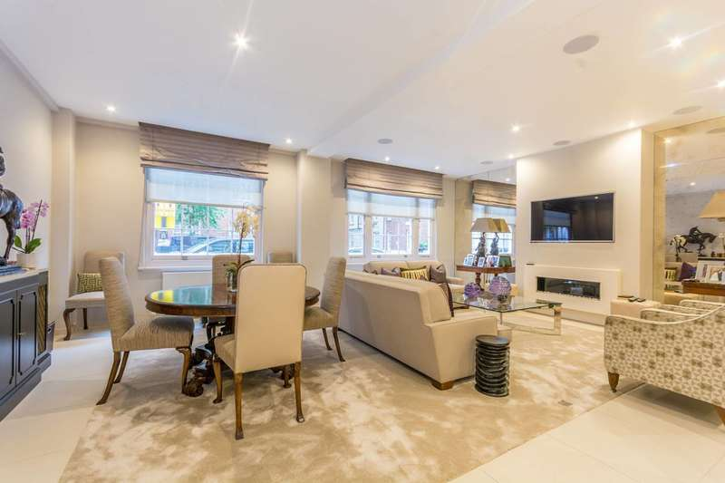 3 Bedrooms Flat for sale in George Street, Portman Estate, W1H