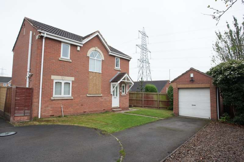 3 Bedrooms Detached House for sale in Gypsy Lane, Castleford, West Yorkshire, WF10