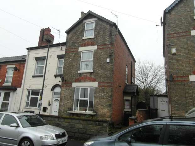 4 Bedrooms End Of Terrace House for sale in Byron Street, Derby, DE23