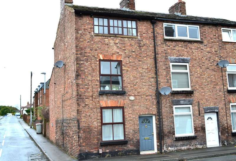 3 Bedrooms End Of Terrace House for sale in Crompton Road, Macclesfield