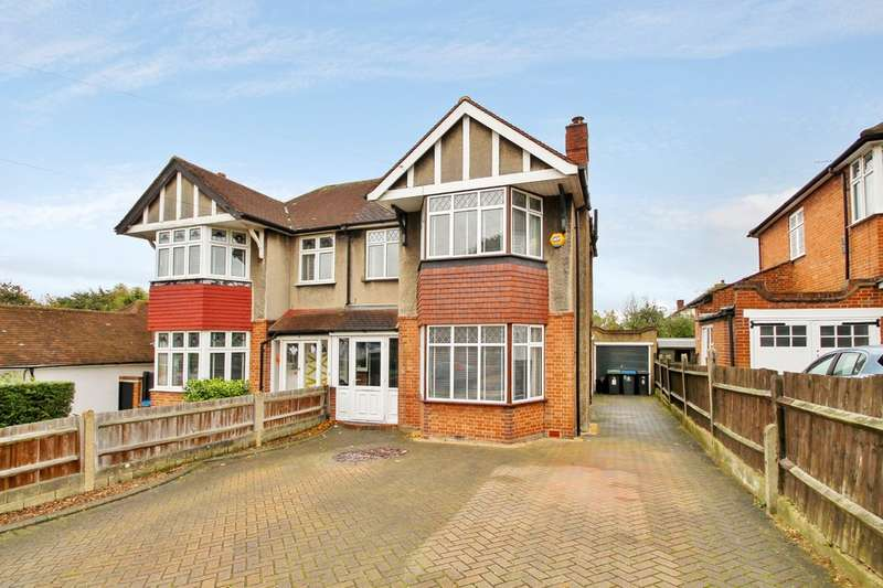 3 Bedrooms Semi Detached House for sale in Elm Close, Surbiton