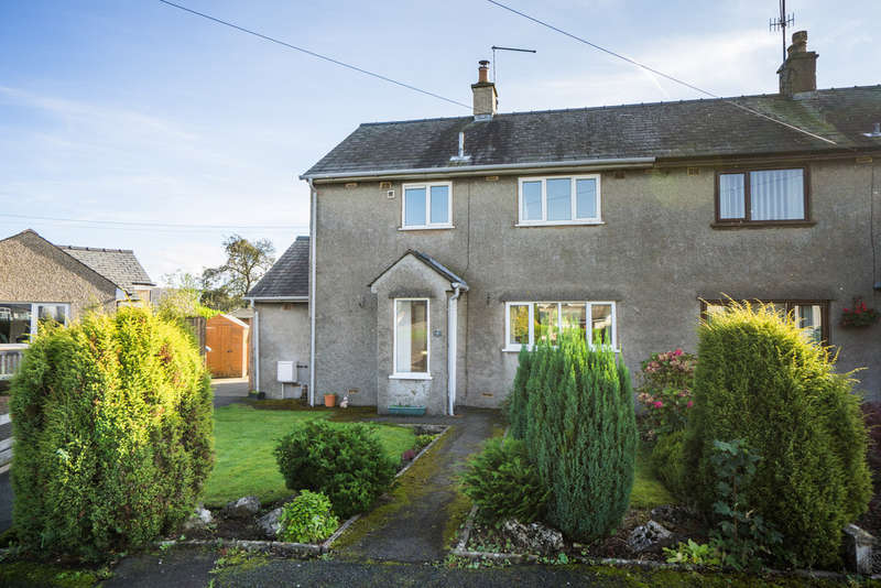 3 Bedrooms Semi Detached House for sale in 7 The Green, Levens, Kendal, Cumbria, LA8 8NH