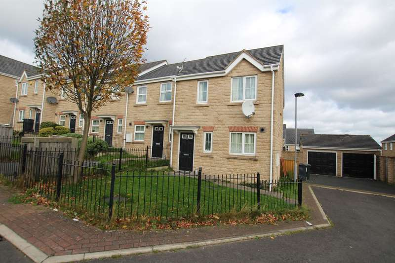 3 Bedrooms Terraced House for sale in Opheilia Close, Bradford, West Yorkshire BD5 7LG