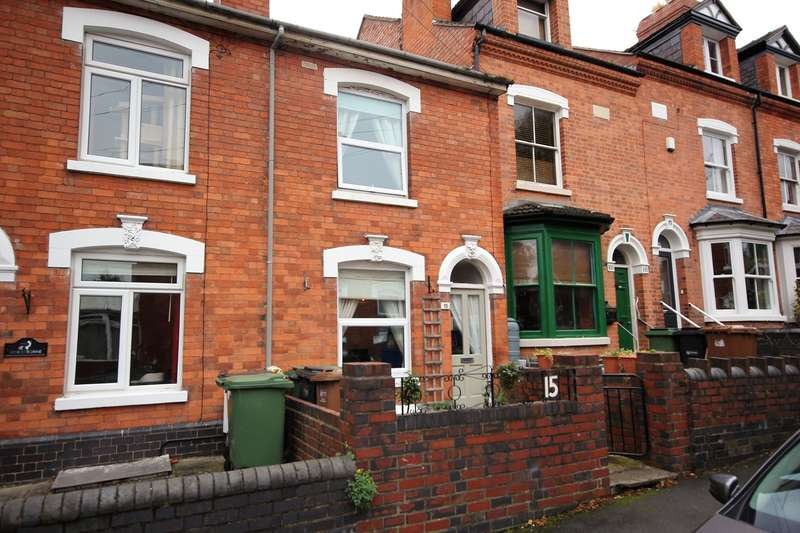 2 Bedrooms Terraced House for sale in St Wulstans Crescent, Worcester, WR5
