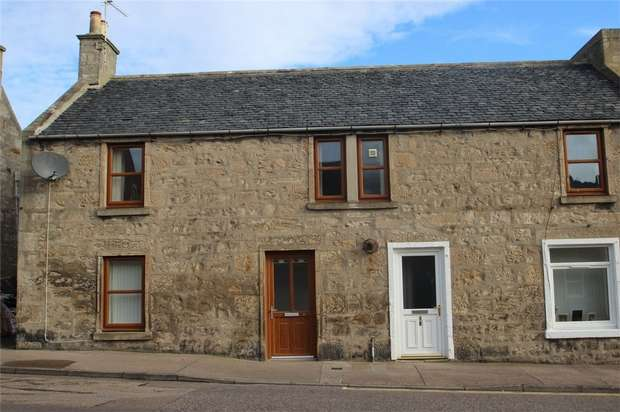 3 Bedrooms Semi Detached House for sale in Queen Street, Lossiemouth, Moray