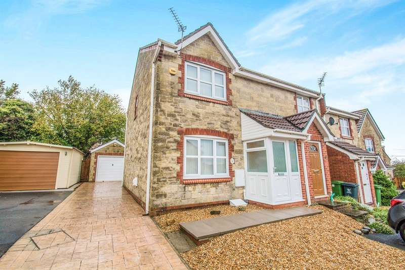 3 Bedrooms Semi Detached House for sale in Sindercombe Close, Pontprennau, Cardiff