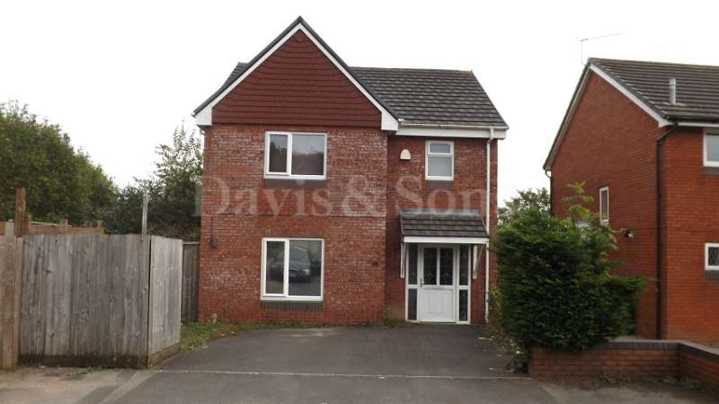 4 Bedrooms Detached House for rent in Royal Oak Drive, Off Chepstow Road, Newport. NP18 1JE