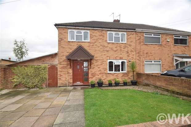 3 Bedrooms Semi Detached House for sale in Pembroke Road, WEST BROMWICH, West Midlands