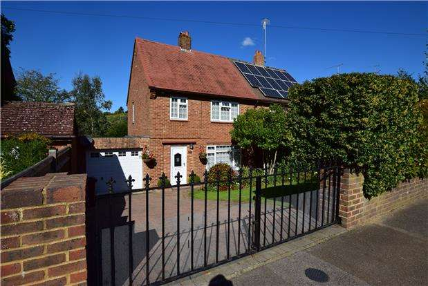 3 Bedrooms Semi Detached House for sale in Summervale Road, TN4 8JQ