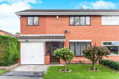 4 Bedrooms Semi Detached House for sale in Copperfield Close, Birchwood, Warrington, Cheshire