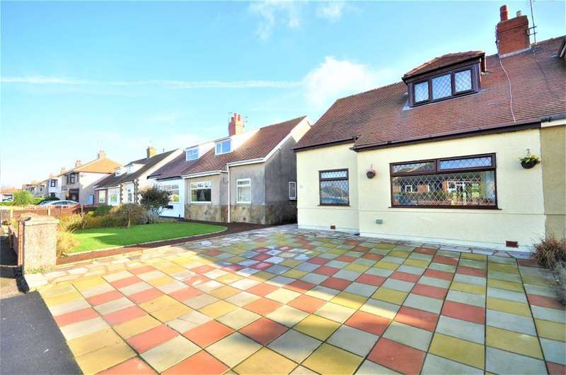 2 Bedrooms Semi Detached Bungalow for sale in Kings Walk, Cleveleys, Thornton Cleveleys, Lancashire, FY5 1HZ