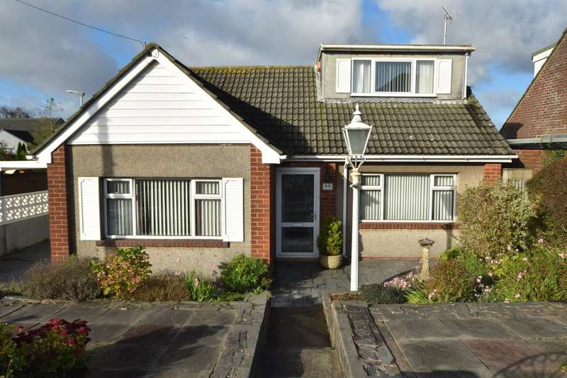 2 Bedrooms Detached Bungalow for sale in Yarlside Road, Barrow-in-Furness, Cumbria, LA13 0EY