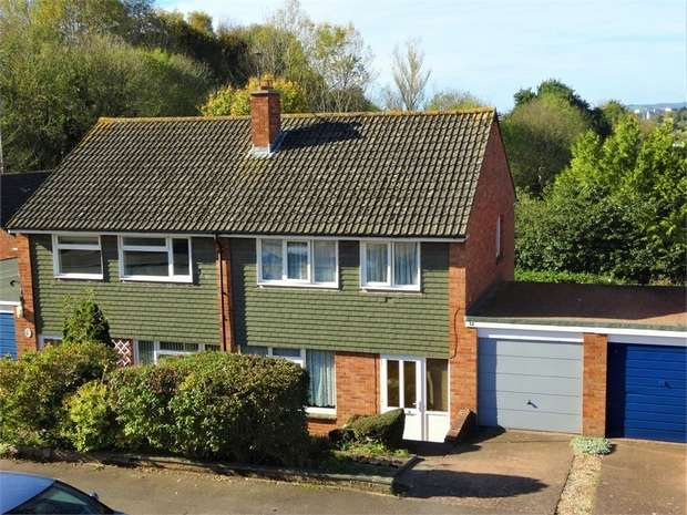 3 Bedrooms Semi Detached House for sale in Quarry Park Road, Broadfields, EXETER, Devon