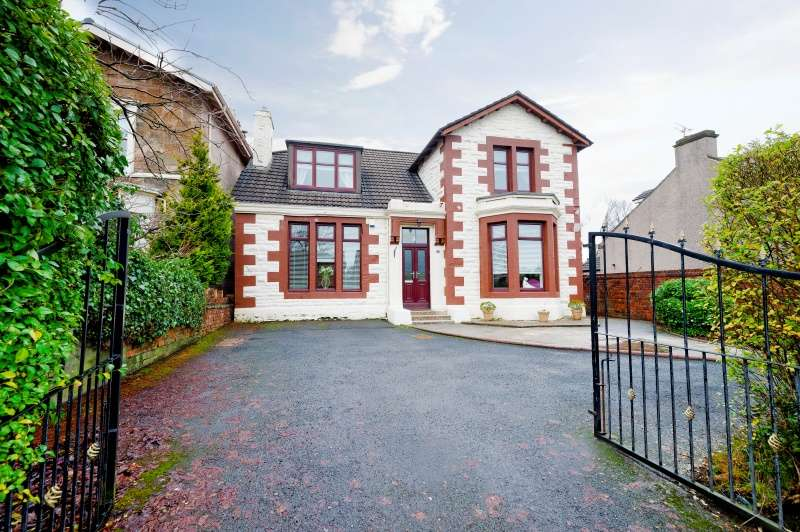 4 Bedrooms Detached Villa House for sale in Chapel Street, Airdrie, Coatbridge, North Lanarkshire, ML6 6LG