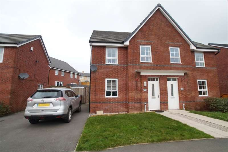 4 Bedrooms Semi Detached House for sale in CA26 3AT Weavers Avenue, Frizington, Cumbria