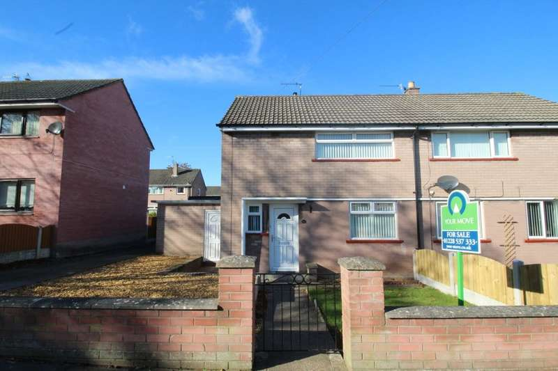 2 Bedrooms Semi Detached House for sale in Levens Drive, Carlisle, CA2